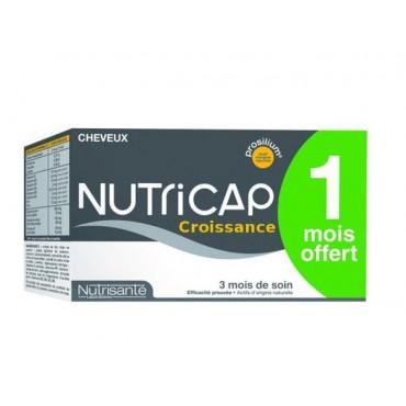 NUTRISANTE NUTRICAP CROISSANCE  180 GELULES 3 Mois De Soin (1 Offert)