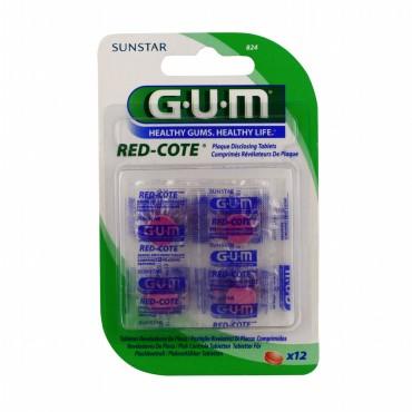GUM RED-COTE 12 COMPRIMES