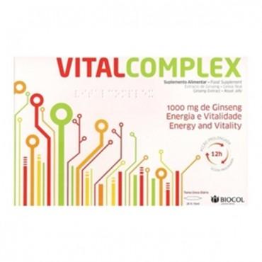 BIOCOL VITAL COMPLEX 20 AMPOULES Energie Et Vitalité