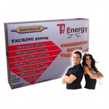 T4 ENERGY CONCENTRE EXTRA ENERGISANT 20 AMPOULES