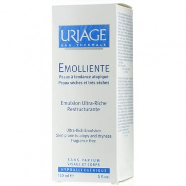 URIAGE EMOLLIENTE 150ml Emulsion Ultra-Riche