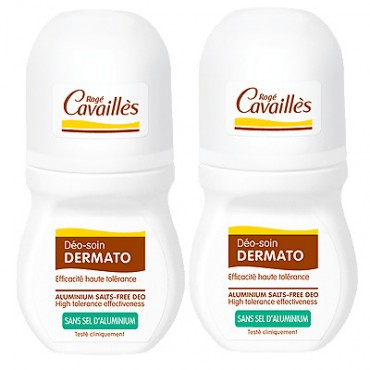 Rogé Cavaillès Déodorant Soin Dermatologique Roll on Lot de 2 x 50 ml