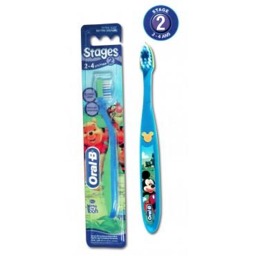 ORAL-B BROSSE A DENT KIDS STAGES 2 (2 - 4 ANS)