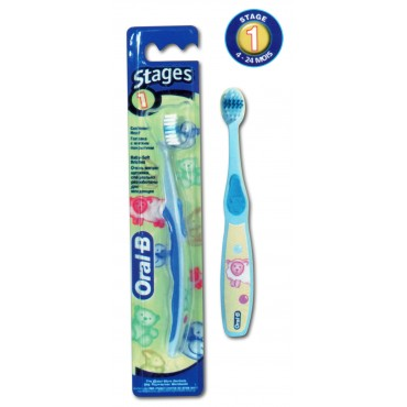 ORAL-B BROSSE KIDS STAGES 1 (4 - 24 Mois)