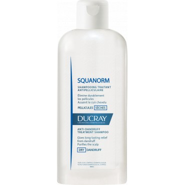 DUCRAY SQUANORM SHAMPOOING PELLICULES SECHES 125ml