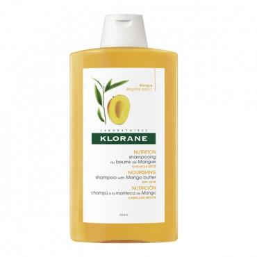 KLORANE BEURRE DE MANGUE SHAMPOOING TRAITANT NUTRITIF 400ml