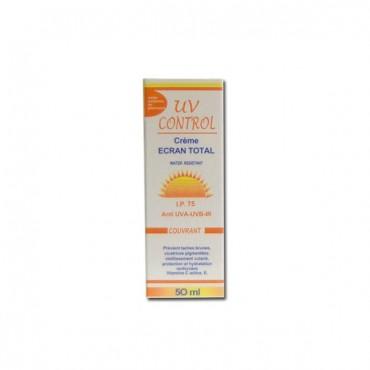 UV CONTROL ECRAN TOTAL IP couvrant 75