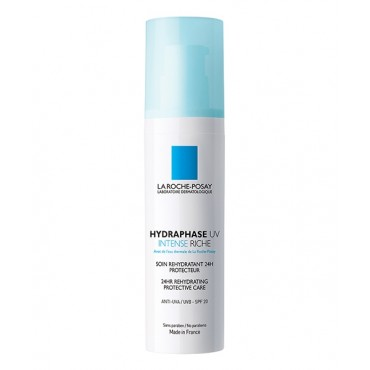 LA ROCHE-POSAY HYDRAPHASE UV INTENSE RICHE 50ml Réhydratation Haute Performance - Peaux Sensibles
