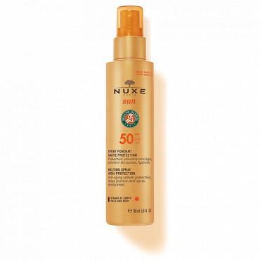 NUXE SUN SPRAY FONDANT HAUTE PROTECTION SPF 50 150ML