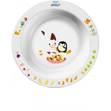 AVENT GRAND BOL 12 M+ Pour Que Votre Enfant Apprenne À Manger Tout En S'amusant