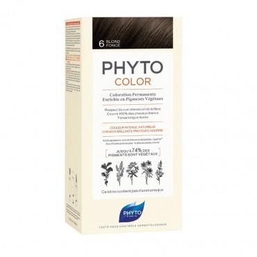 PHYTO PHYTOCOLOR COLORATION PERMANENTE 6 Blond Foncé