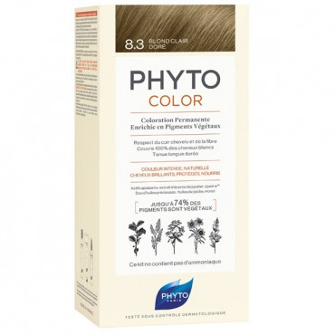 Phyto PhytoColor Coloration Permanente  8.3 Blond Clair Dor