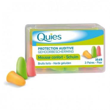 QUIES Protection Auditive En Mousse