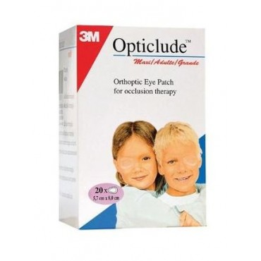 3M OPTICLUDE MAXI ADULTE - 20 Pansements